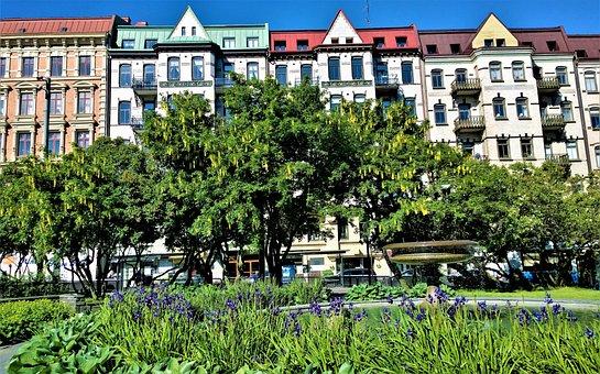 Gothenburg, Vasastan, Vasaplatsen, Sweden, House