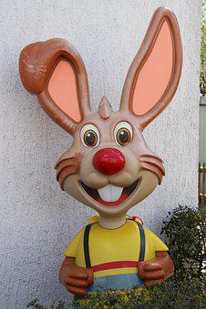 Easter, Hare, Fun, Easter Eggs, Cute, Long Eared