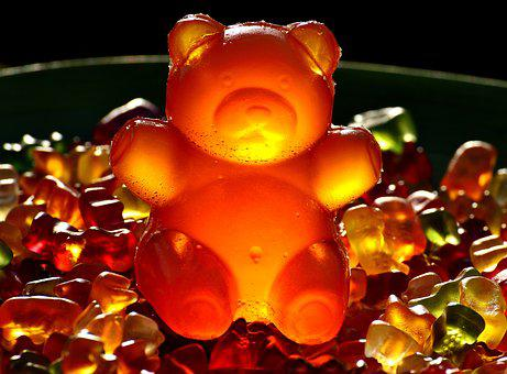 Gummibärchen, Giant Rubber Bear, Sugar, Sweet, Haribo