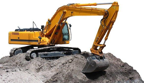 Excavator, Heavy Machine, Excavation