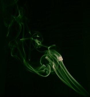 Smoke, Mist, Incense, Flame, Wave, Curve, Dynamic