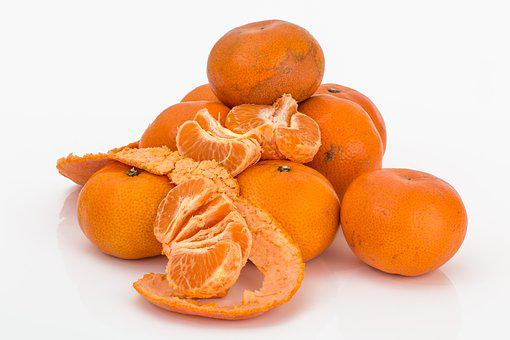 Tangerine, Mandarin, Citrus Fruit, Ripe, Juicy