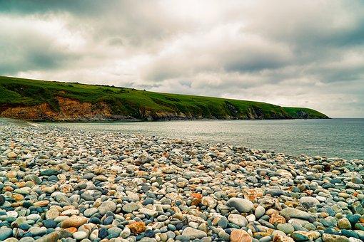 Beach, Pebbles, Coast, Sea, Ocean, Water, Landscape