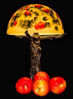 Apple, Lamp, Light, Interior