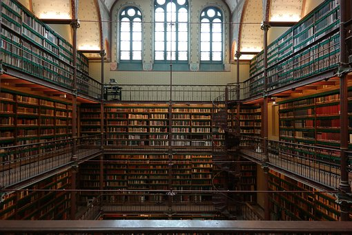 Library, Books, Read, Learn, Literature, Study