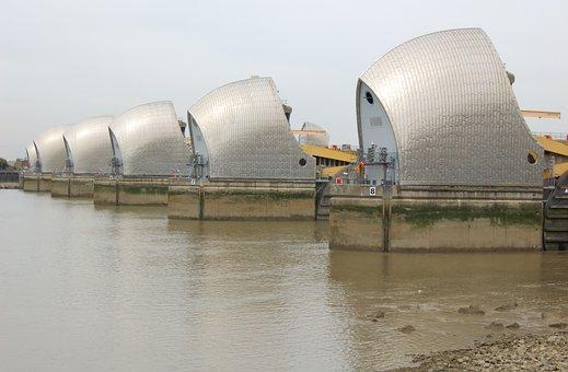 Thames, Barrier, London