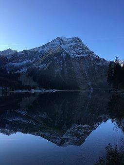 Tannheim, Vilsalpsee, Mirroring, Lake