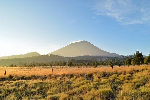 Landscape, Volcano, Mountain, Mountain Landscape