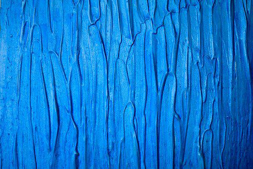 Texture, Acrylic, Abstract, Background, Art, Light Blue