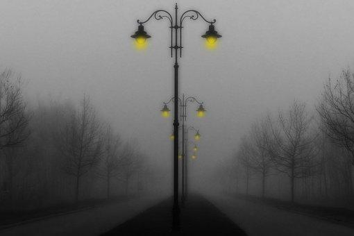 November, Mood, November Mood, Fog, Autumn