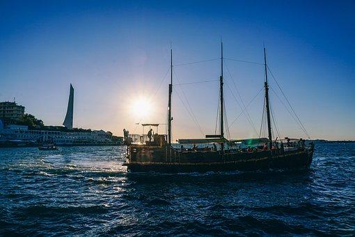 Beautiful, Beauty, Blue, Boat, Coast, Color, Dusk