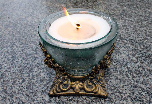 Candle, Fire, Memory, The Flame, Light, Autumn, Tribute