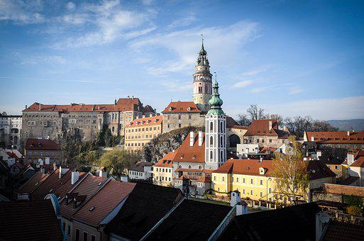 český Krumlov, Cesky Krumlov, Old Town, Krumlov
