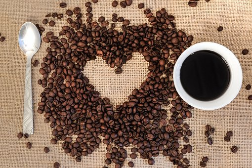 Coffee, Coffee Beans, Heart, I Love, Benefit From