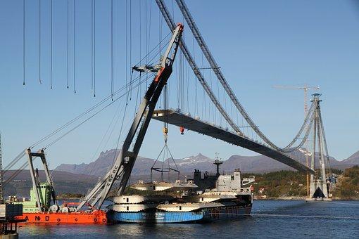 Bridge, Narvik, Cons, Norway, Ship