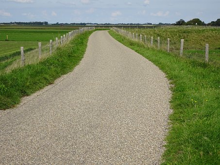 Away, Bicycle Path, Cycle Path, Nature, Road