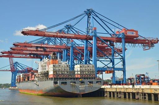 Hamburg, Port, Elbe, Hanseatic City, Ship, Water