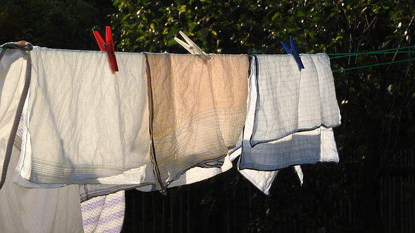 Clothesline, Funny, Clothes, Washed Linen