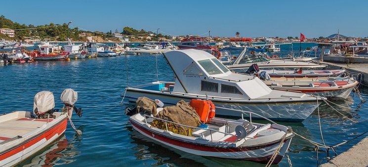 Zakynthos, Ships, Boat, Cruise, Holiday, Sea, Greece