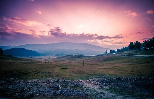 Autumn, Gulmarg, Evening, Sunset, Autumn In Kashmir