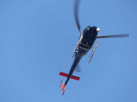 Helicopter, Barcelona, Stop, Aircraft, Rotor, Flight
