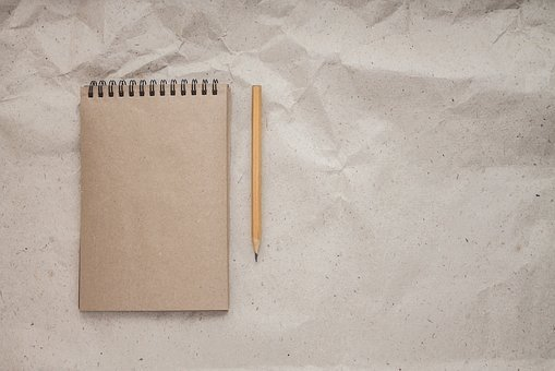 Notebook, Pencil, The Note, Record, Write, Diary, Album