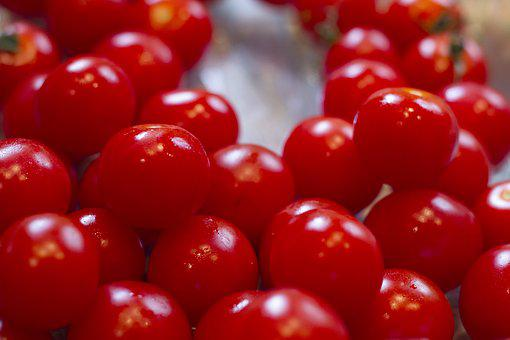 Cherry Tomatoes, Tomatoes, Cherry, Red, Kitchen, Food