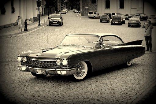 Auto, Monument, Retro Car, Classic, Poznan