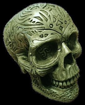 Skull, Skull And Crossbones, Creepy, Scare, Horror