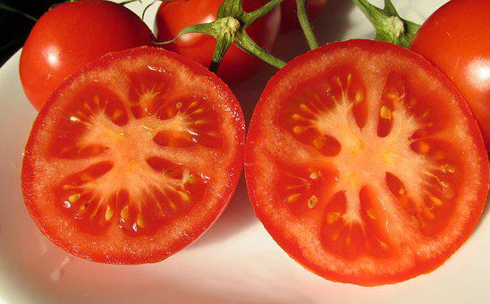 Tomatoes, Sliced, Food, Cooking