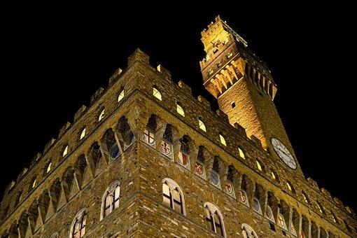 Florence, Tuscany, Italy, Old Palace