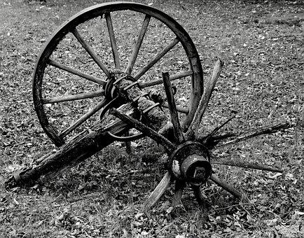 Wagon Wheel, Wheel, Wood, Wooden Wheel, Spokes, Wheels