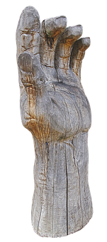 Hand, Finger, Wood Hand, Sculpture, Holzfigur