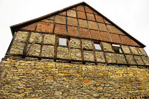 Home, Fachwerkhaus, Wood Skeleton, Old House, Truss