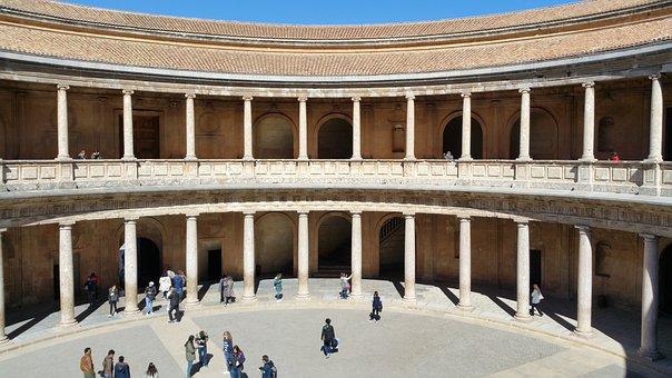 Alhambra, Calat Alhamra, Granada, Fortress, Royal