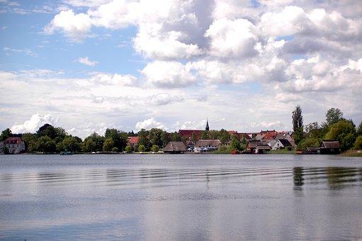 Müritz, Lake, Mecklenburg, Lake District, Water