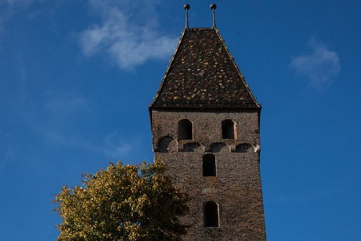 Ulm, City, City View, Old Town, Tower, Metzgerturm