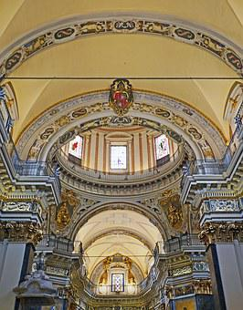 Jewelry Vault, Cathedral, Nice, Italian Baroque, Arches