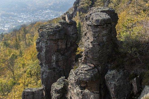 Baden Baden, Battert Rock, Battert, Stone, Hill
