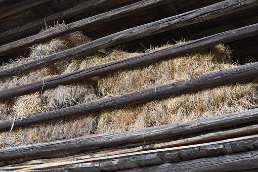 Straw, Scale, Barn, Landscape, Rural