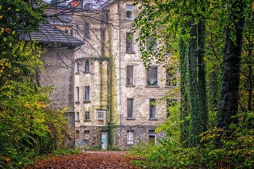 Lost Places, Clinic, Institute, Pforphoto, Wild