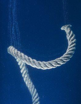 Rope, Water, Solid, Conceptual, Thoughts, Idea, Connect