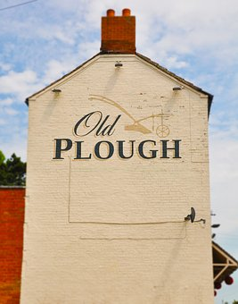 Uk, British, Plough, Pub, Countryside, Village, England