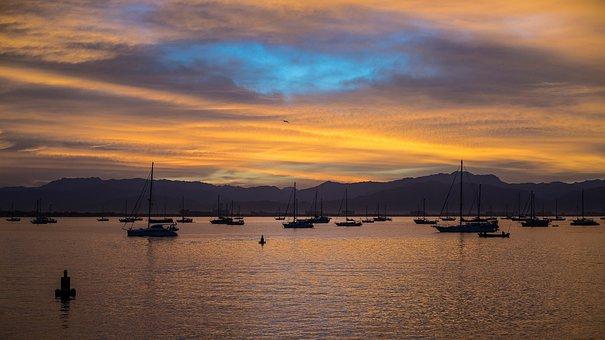 Sunset, Nature, Sky, Darwin, Sunset Sky, Horizon