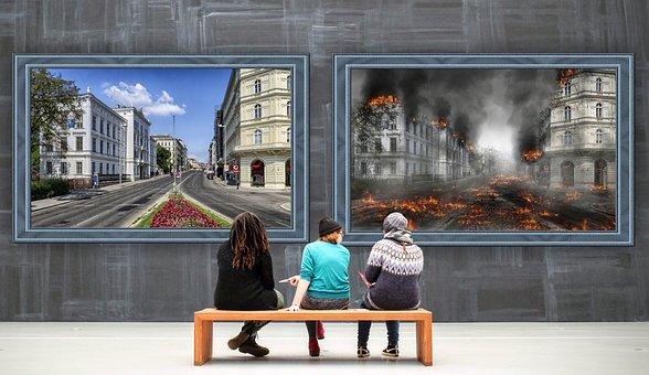 Gallery, Images, Harmony, War, Destruction, Visitors