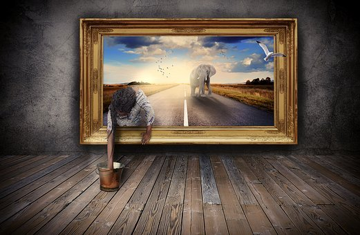 Art, Delusion, Fantasy, Photoshop, Creative, Effect