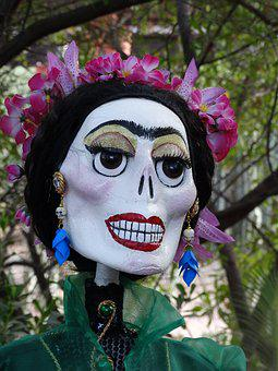 Day Of The Dead, Figure, Woman, Mexican, Tradition