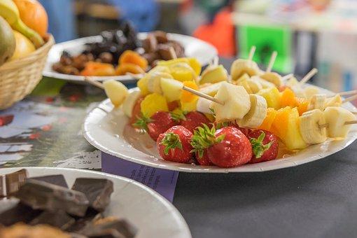 Power, Health, Fruit, Chocolate, Food, Plate