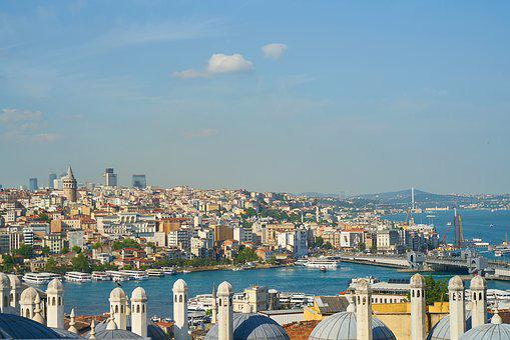 Istanbul, Estuary, Throat, Eminönü, Landscape, Marine