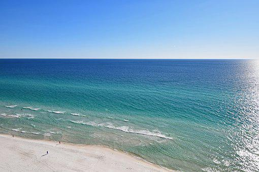 Nature, Sand, Beach, Travel, Gulf Of Mexico